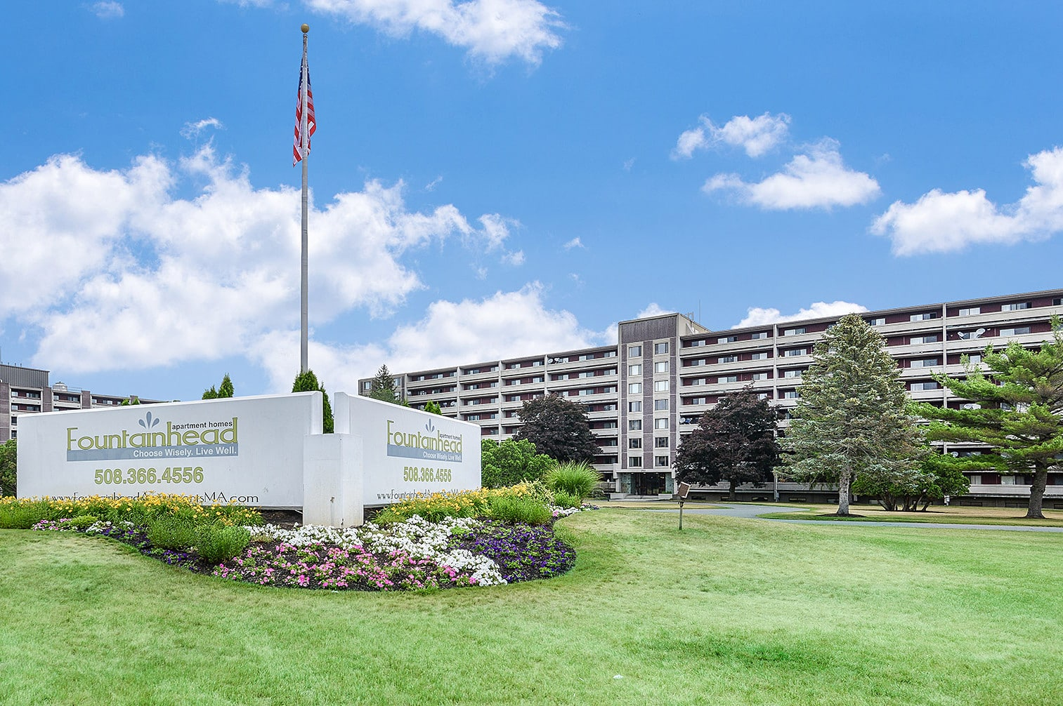 Fountainhead apartments in Westborough MA